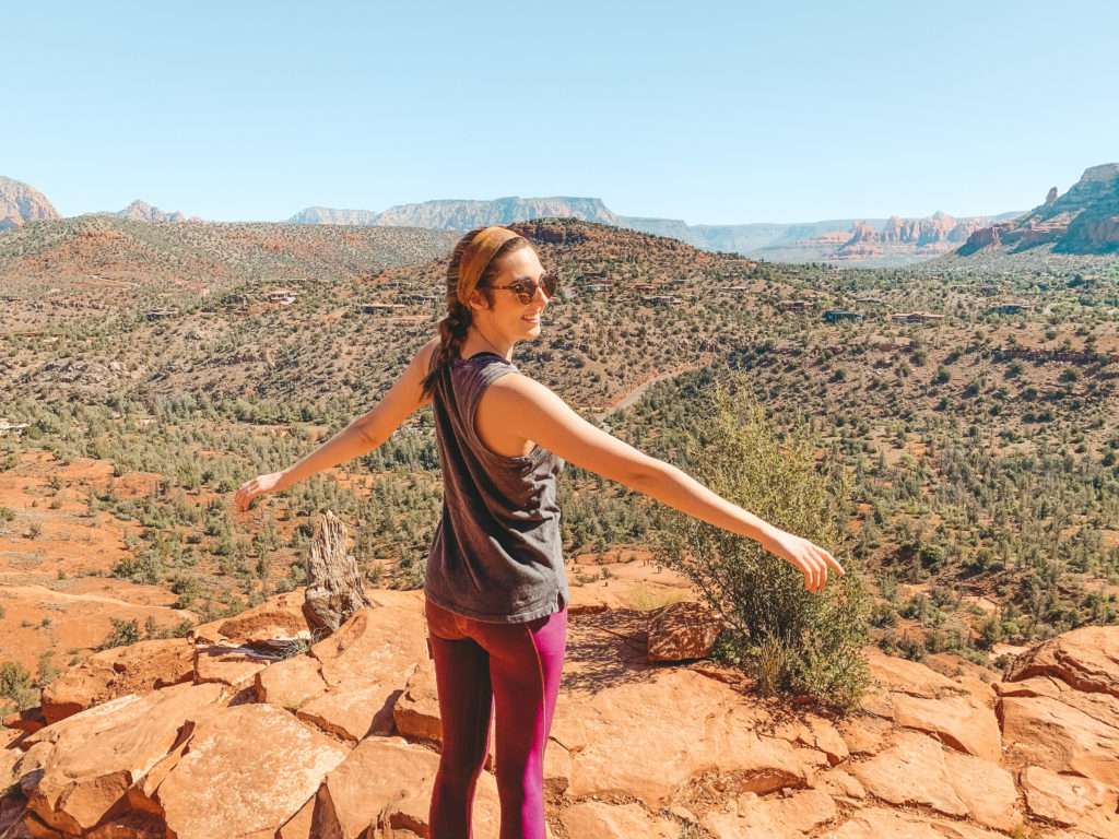best day trips from phoenix - sedona hiking - Travel by Brit