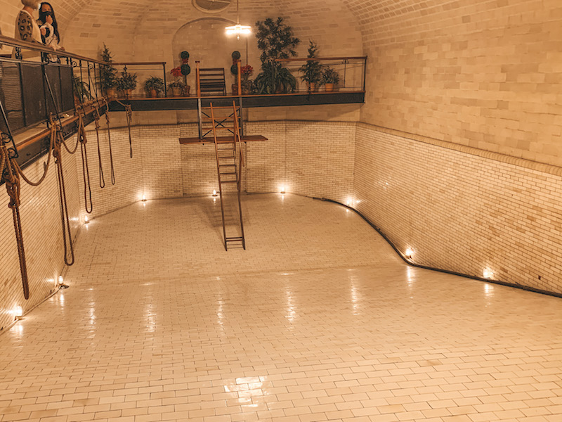 Indoor Swimming Pool at the Biltmore