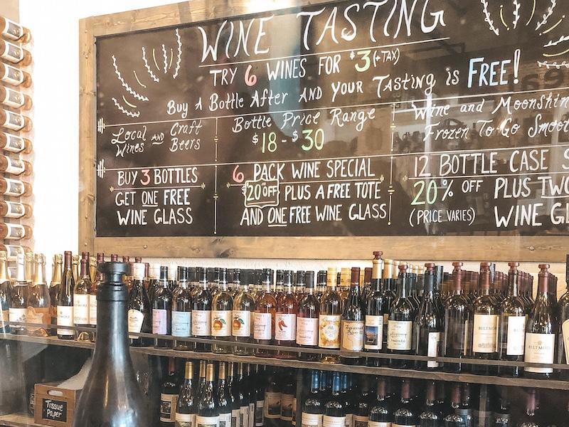 The Georgia Tasting Room | Travel by Brit