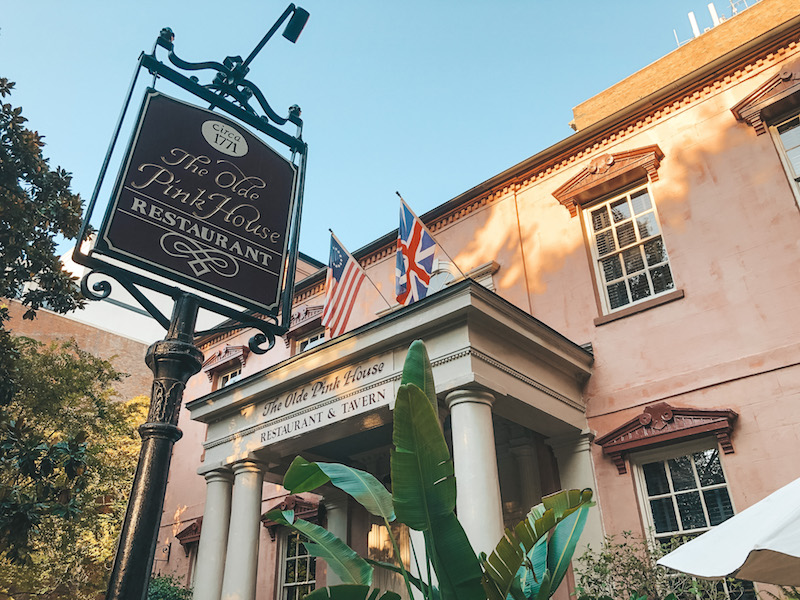 Best Places to Eat in Savannah - The Olde Pink House | Travel by Brit