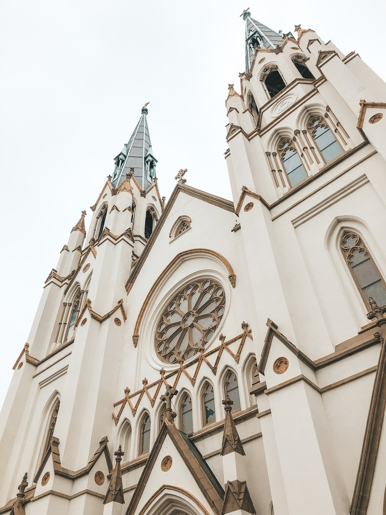 Cathedral Basilica of St. John the Baptist - Things to do in Savannah - Travel by Brit