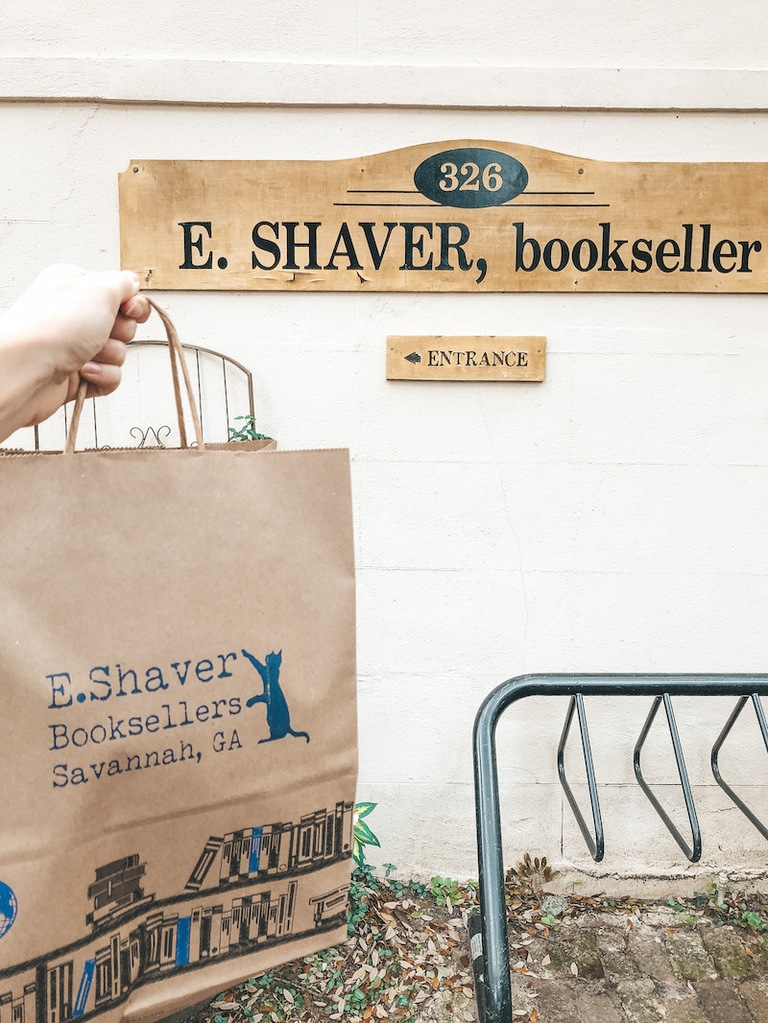 E. Shaver Booksellers - Best Things to Do in Savannah - Travel by Brit